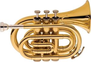 Trompete Pocket Eagle TP 520 Laqueado