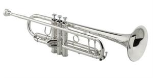 Trompete Jupiter JTR 1102 RS Prateado Sib